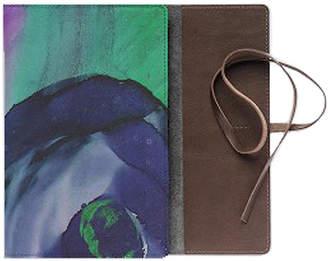 Vida Floral Ink Leather Journal