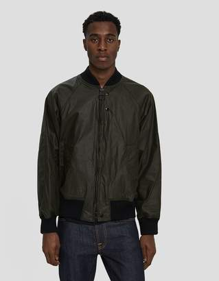 Engineered Garments Barbour Dumbo Wax Jacket in Archive Olive
