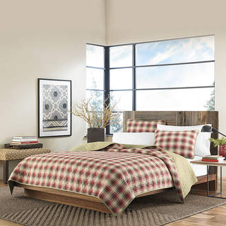 Eddie Bauer Ravenna Plaid Quilt Set
