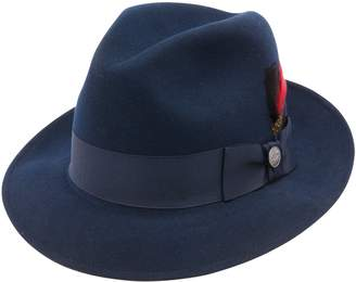 Stetson Frederick Fedora in Blue