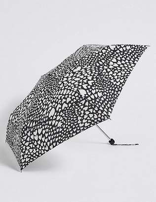 "Marks and Spencer Heart Print Umbrella with Stormwearâ""¢"