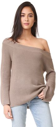 525 America Off Shoulder Sweater $76 thestylecure.com