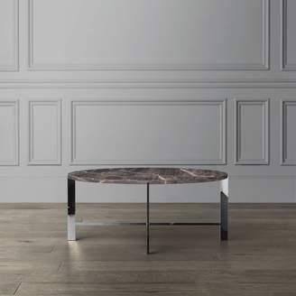 Williams-Sonoma Mercer Coffee Table, Grey Marble