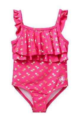 Body Glove Pink Foil 1 PC Swimsuit (Toddler)
