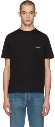 Balenciaga Black Small Logo T-Shirt