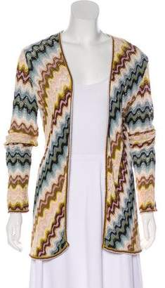 Missoni Open Knit Open Front Cardigan