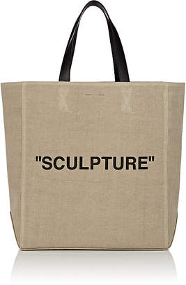 "Off-White Women's ""Sculpture"" Canvas Tote Bag"