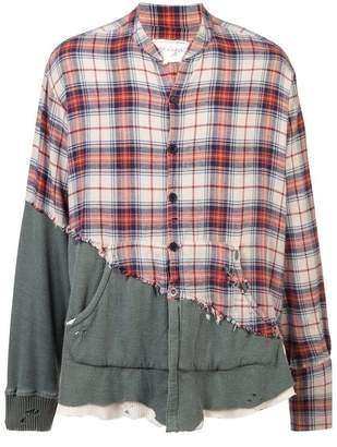 Greg Lauren patchwork shirt