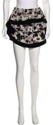 Thakoon Abstract Mini Skirt