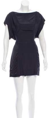 AllSaints Paneled Mini Dress
