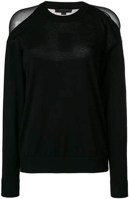 Alexander Wang sheer panelled sweater