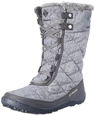Columbia Women's Minx Mid II OH Twill Snow Boot $120 thestylecure.com