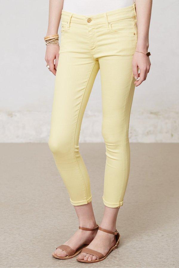 Anthropologie Mother Looker Crop Jeans