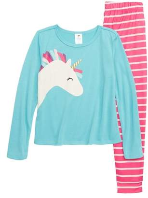 Tucker + Tate Unicorn Fitted Two-Piece Pajamas