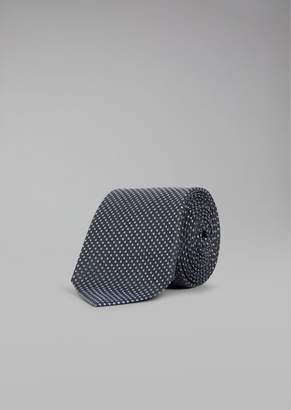 Giorgio Armani Polka Dot Silk Tie
