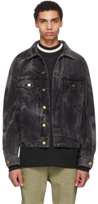 Fear Of God Black Selvedge Holy Water Denim Jacket