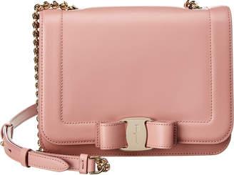 11bff9c866 Salvatore Ferragamo Vara Small Leather Shoulder Bag
