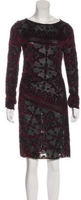 Diane von Furstenberg Sloana Semi-Sheer Dress