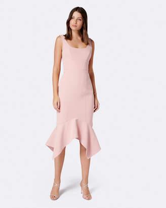 Forever New Clara Bodycon Hanky Hem Dress