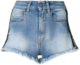 Marcelo Burlon County of Milan vintage-wash short shorts