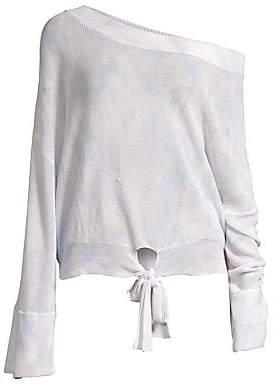 Spiritual Gangster Women's Kona Tie-Front Sweater
