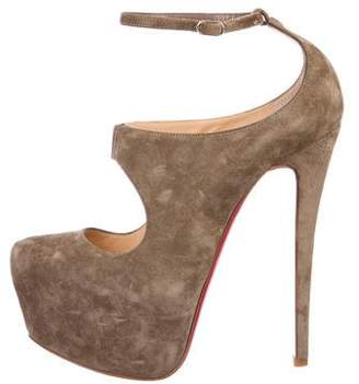 Christian Louboutin Platform High Heel Pumps