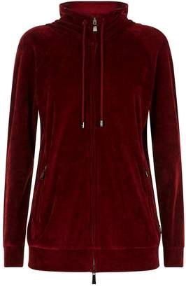 Max Mara Velvet Hooded Jacket
