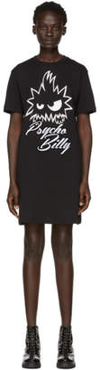 McQ Black Psycho Billy T-Shirt Dress