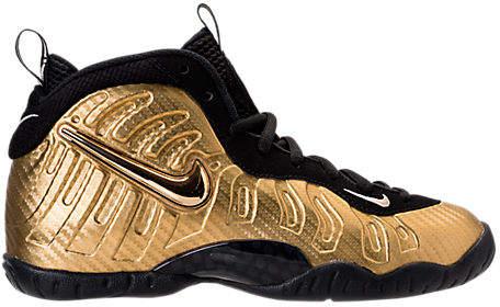 Boys' Grade School Little Posite Pro Basketball Shoes, Brown