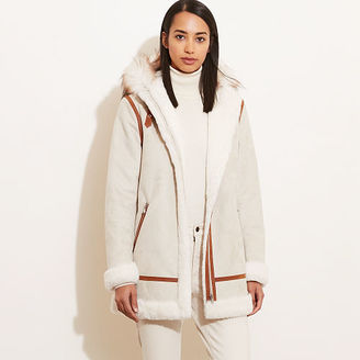 Ralph Lauren Faux-Shearling Hooded Coat $350 thestylecure.com