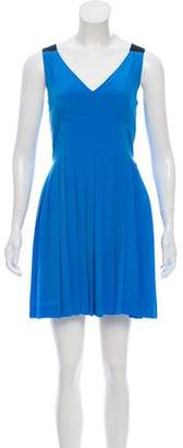 Marc by Marc Jacobs Box-Pleat Knee-Length Dress
