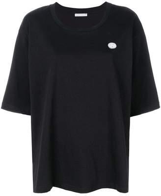 Societe Anonyme logo patch T-shirt