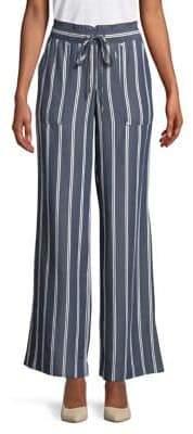 Jones New York Striped Paper Bag Pants