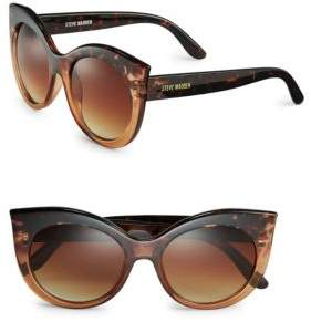 Steve Madden 54mm Cat-Eye Sunglasses
