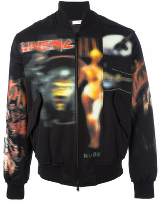 Givenchy printed bomber jacket $2,295 thestylecure.com