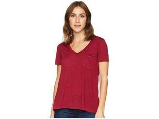 Stetson 1582 Rayon Jersey Knit Short Sleeve V-Neck Tee