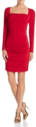 Nicole Miller Ruched Side Dress $275 thestylecure.com