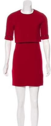 The Kooples Layered Mini Dress