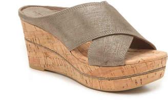Donald J Pliner Dacota Wedge Sandal - Women's