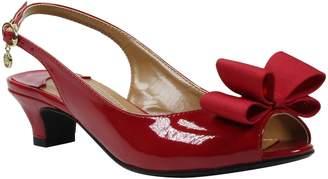 J. Renee Landan Bow Slingback Sandal