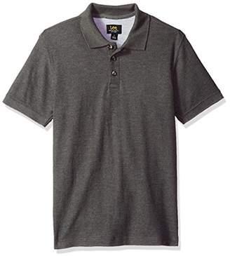 Lee Men's Short Sleeve Polo Tee Shirt