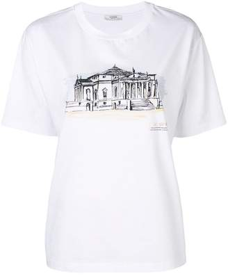 Peserico printed T-shirt