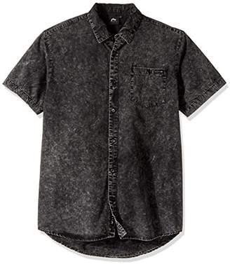 Rusty Men's in Trance Short Sleeve Shirt