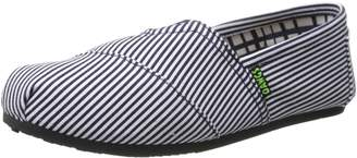 Dawgs Women's Kaymann Canvas ST BL Ballet Flat