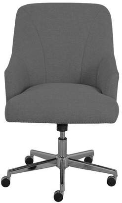 At Wayfair · Serta At Home Leighton Mid Back Desk Chair