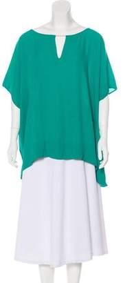 Diane von Furstenberg Beonica Short Sleeve Top