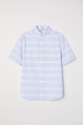 H&M Regular Fit Poplin Shirt