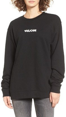 Women's Volcom Hesh Graphic Pullover $45 thestylecure.com
