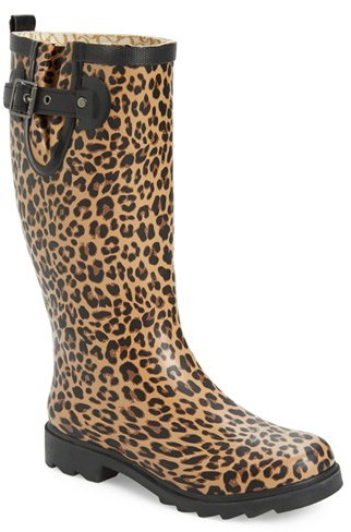 Chooka Women's Chooka 'Lavish Leopard' Rain Boot