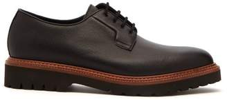 Paul Smith Rod Leather Derby Shoes - Mens - Black